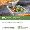 Green Collection: Compostable Rectangle Containers