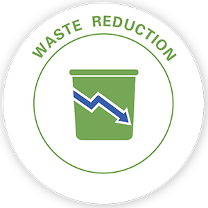 Waste Reduction pillar icon