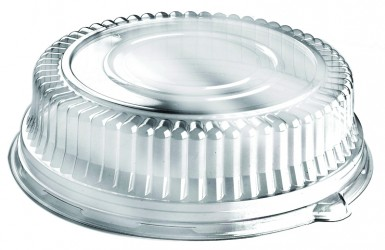 Clear high dome lid