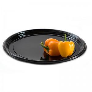 """Black Onyx 12"""" Round Platter"""