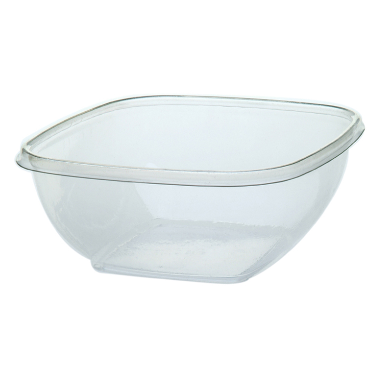 300CT 32OZ CLR PET SQBOWL