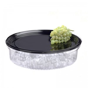 """16"""" Onyx Platter with Lid"""